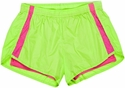 Lime & Pink Endurance Short w/ Compression Liner