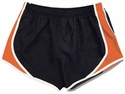 Pennant's Black & Orange Team Track Shorts