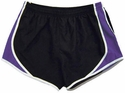 Pennant's Black & Purple Team Track Shorts