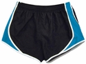 Pennant's Black & Surf Blue Team Track Shorts