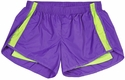 Purple & Lime Endurance Short w/ Compression Liner
