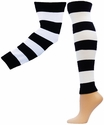 Rugby Stripe Leg / Arm Warmers - in 3 Colors & 2 Sizes