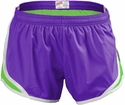 Soffe's  Neon Purple & Lime Green Track Shorts