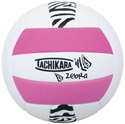 Tachikara Pink Zebra Stripe Volleyball
