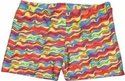 Tie-Dye Ribbons Spandex Short