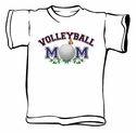 Volleyball Mom Design T-Shirts & Sweatshirts in Lots of Colors