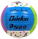 Baden Confetti Sayings Volleyball