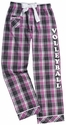 Magenta Storm Plaid Cotton Pants � Choice of 22 Sport Imprints � Leg or Rear