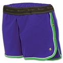 Blue & Green Champion Double Dry Women's Fitness Shorts