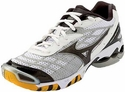 Mizuno Wave Lightning RX Womens White & Black Volleyball Shoes