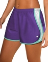Purple & Light Blue Champion Double Dry Women's Sport Shorts