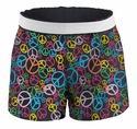 Soffe Peace Sign Shorts - Choice of Sport Imprints - Leg or Rear