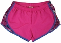 Soffe�s Neon Pink & Sayings Print Track Shorts
