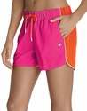 Champion Pink & Orange Authentic Color-Blocked Women's Shorts