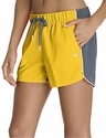 Champion Yellow & Grey Authentic Color-Blocked Women's Shorts
