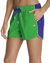 Champion Green & Blue Authentic Color-Blocked Women's Shorts