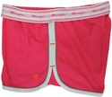 Pink & White Champion Double Dry Women's Fitness Shorts