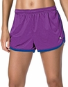 Purple & Blue Champion Mesh Women's Hot Shorts