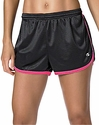 Black & Pink Champion Mesh Women's Hot Shorts