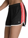 Black & Coral Champion Authentic Women's Flex Shorts