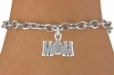 Baseball / Softball Mom Charm Bracelets