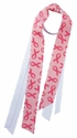 Pink Ribbon Awareness Ribbon Ponytail Streamers