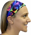 Feisty Cat Spandex Fabric Headband