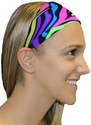Neon Electro-Bright Spandex Fabric Headband