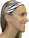 Zebra Stripe Spandex Fabric Headband