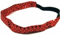 Red Sequin Glitter Headbands