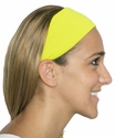 Neon Yellow Spandex Fabric Headband