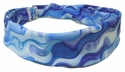 Blue Ribbons Spandex Fabric Headband