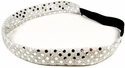 White Sequin Glitter Headbands