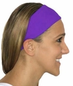 Neon Purple Spandex Fabric Headband