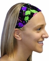 Paint Ball Splat Spandex Fabric Headband