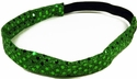 Kelly Green Sequin Glitter Headbands
