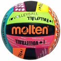 Molten Black & Neon �I Love Volleyball� Camp Volleyball