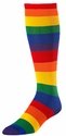 Bright Rainbow Stripes Over-Calf KraziSox