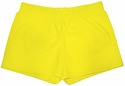 "Neon Yellow 2.5"" inseam Spandex Shorts"