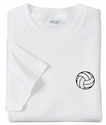 Mini Volleyball Logo Discount T-Shirt - in 3 Shirt Colors
