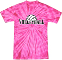 Colorful VOLLEYBALL T-Shirts