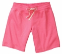 Pink Volleyball Rear Imprint Fleece Bermuda Short