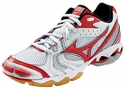 Mizuno Wave Bolt 2 Women's White & Red Volleyball Shoes
