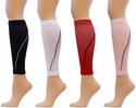 Sport Compression Leg Sleeves - in 4 Colors