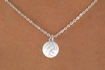 White Volleyball Charm Necklace