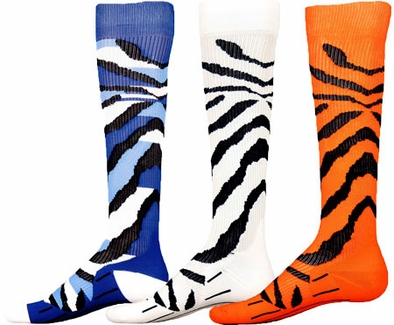 Krazy Kat Stripe Sport Compression Socks - 3 Color Options