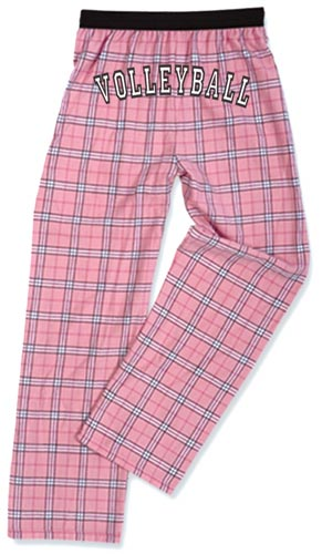 Youth Flannel Pajama Pants - Choice of 22 Sport Imprints on Rear - in many Plaid Colors