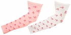 Pink Ribbon Sport Compression Arm Sleeves - 2 Color Options