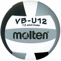 Molten Black-White-Silver VB-U12 Youth Volleyball