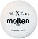 Molten Soft Touch X White Volleyball
